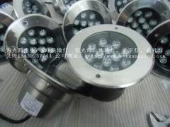 12W彩色或单色LED水下嵌壁灯,IP68防水埋地安装
