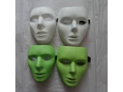 厂家直供假面舞会面具、白色街舞面具、鬼舞步面具