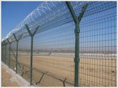 机场护栏网,厂家直销,质优价廉   晨航丝网
