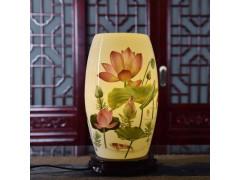 定制卧室客厅样板房吸顶灯创意个性台灯 陶瓷台灯