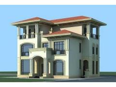 豪华欧式三层自建别墅设计图,布局合理,美观精致