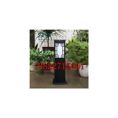黑色方形草坪灯室外照明路灯小区景区别墅庭院景观灯道路灯