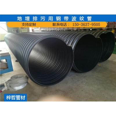 hdpe地埋排水管|聚乙烯钢带波纹管厂家