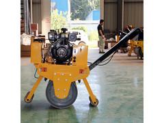 手扶式汽油压路机 单钢轮振动压路机 手扶压路机