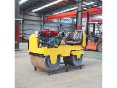 850型座驾式双钢轮振动压路机 小型压路机 座驾压路机
