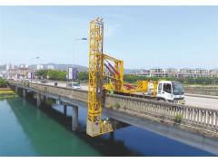 浙江防撞缓冲车出租,丽水22米桥梁检查车租赁